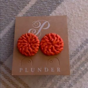 Cute as a button earring studs